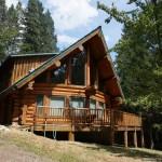 Dream Log Cabin on creek side  | Creek front home; Sawyers Bar Rd. Etna, CA